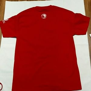 T&C Surf Hawaii Shirts - T&C Surf Hawaii Red t-shirt with saying size Large